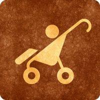 symbol wózka dziecięcego