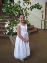 sukienka z pierwszej komunii