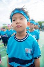 Chłopczyk na boisku