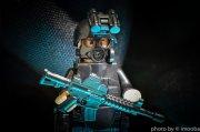 militarny ludzik LEGO